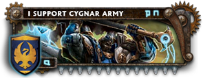 BANNER Warmahordes BannerMKII_cygnar_siege