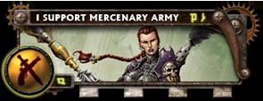 BANNER Warmahordes BannerMKII_merc_black